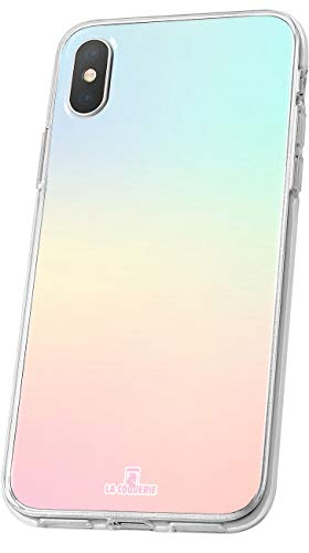 petit un compact Coque d'origine en silicone semi-dure couleur pastel pour LA COQUERIE Huawei Y5.  Couvercle de protection …