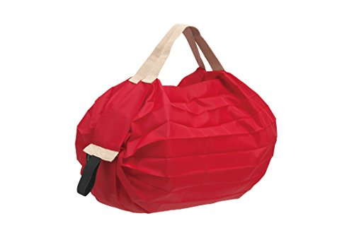 Marna S440R Shupatto Pocketable Bag, Small, Red, Foldable, Eco Bag