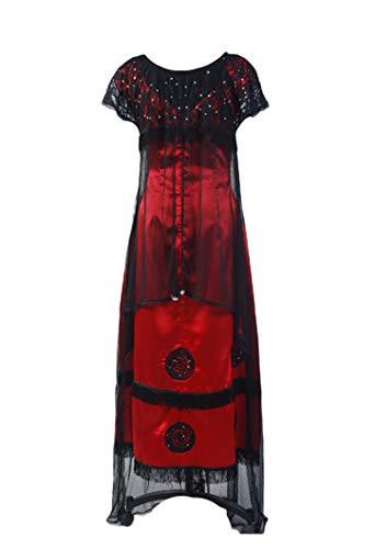 Titanic Rose Jump Dress Cosplay Disfraz Victorian