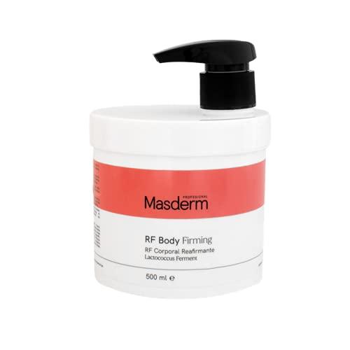 MASDERM | Gel - Crema Corporal Radiofrecuencia Reafirmante Hidratante 500 ml | Profesional | Mujer | Cavitación | Ultrasonidos | Luz LED