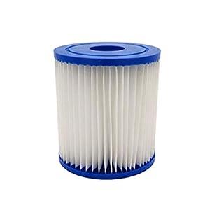 4 Piezas Filtro de Piscina, Cartucho de Filtro de Piscina, Cartucho filtros Tipo a, Filtro de SPA, Depuradora de Cartucho, Accesorio para Piscina, Filtro antisuciedad, Cartucho de Filtro de Repuesto