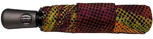 Totes Titan Super Strong Auto Open Auto Close Compact Umbrella,