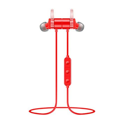 Chezaa S3 Magnetic Wireless Earbuds Bluetooth Headphones Sport IPX 6 Sweatproof Earbuds for Workout,Best Beats Sports Earphones Mic Waterproof Cordless Sports Ear Buds for Gym Jogging