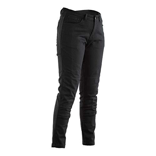RST 2288 Aramid CE korte been dames Texile Jean In zwart (geen beschermers)