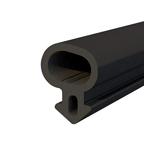 DQ-PP - Junta para ventanas de PVC (30 m), color negro