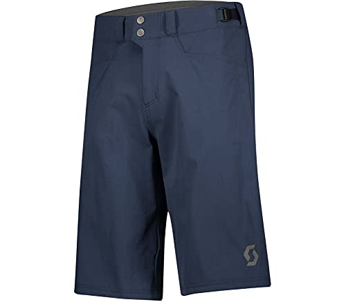 Scott Trail Flow Fahrrad Short Hose kurz (Inkl. Innenhose) Midnight blau 2022: Größe: L (50/52)