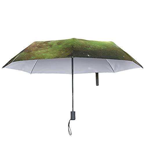 Sonnenschirm, automatisches Öffnen und Schließen – Universum Reverse UV mit wasserdichter Hülle Regenschirm