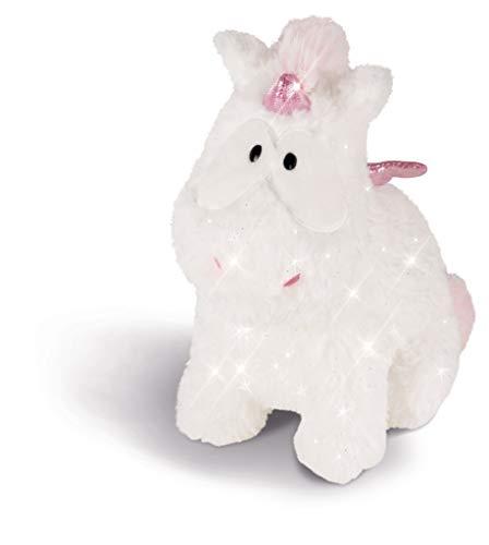 NICI 43254 Kuscheltier Einhorn-Baby Theofina, 22 cm, weiß/rosa