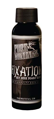 Pure Whitetail Fixation Buck Scent - 2 oz, Mock Scrape Licking Branch Gel Attractant Containing Fresh 100% Pure Buck Scent