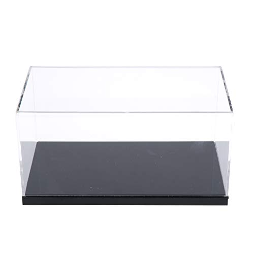 Toygogo Acryl Vitrine Arbeitsplatte Box Cube Organizer Lagerung Für 1/35 Tank Spielzeug