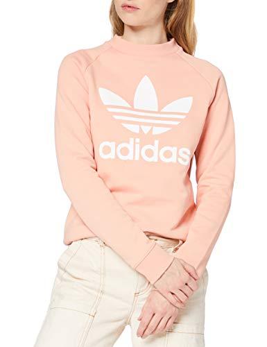 adidas Kobiety Trefoil Crewneck Bluzy Różowy, 40