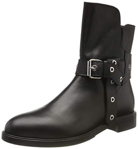 Marc Cain Damen Ankle Boot Stiefeletten, Schwarz (Black 900), 37 EU