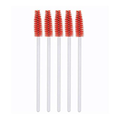 1 Stks Wimpers Penseel Make-up Eye Lash Curling Tool Mascara Brush Eyes Cosmetics Wimper Verlenging Dikke Lashes make-up Borsteltjes,5 stuks