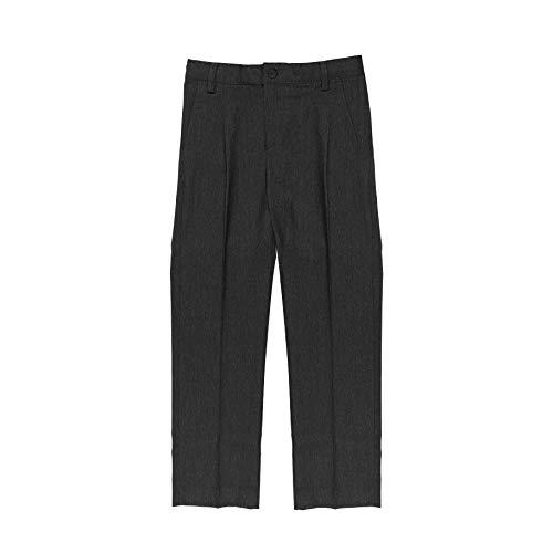 Minime Pantalones Gris Oscuro Vestir Colegio Elastano (4)