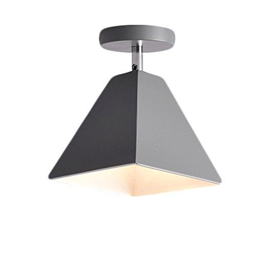 Deckenleuchten HSJ Nordische kleine Deckenlampe Moderne minimalistische Korridor-Hallenbeleuchtung Farbe Foyer LED-Schlafzimmer-Gang-Lichter (Color : C)