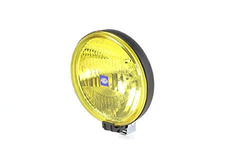 HELLA 1F7 004 700-071 Fernscheinwerfer - Rallye 1000 - Halogen - H2 - 12V - rund - Ref. 37,5 - gelb - Anbau - Einbauort: links/rechts