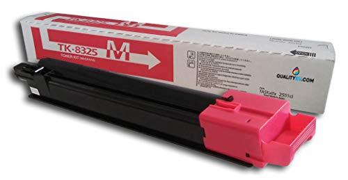 Toner Kyocera TK-8325 compatibile Magenta. toner compatibile con stampante Kyocera TASKalfa 2551ci. Alta qualità garantita al miglior prezzo garantito!