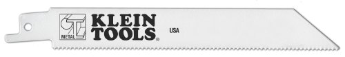 Klein Tools 31722-50 6-Inch, 14 TPI, Bi-Metal Reciprocating Saw Blade for Heavy Gauge Metals, 50-Pack