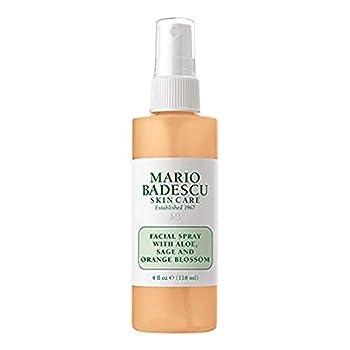 Mario Badescu Facial Spray with Aloe Sage and Orange Blossom 4 Fl Oz