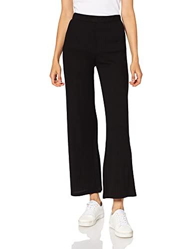 PIECES PCMOLLY Pants Noos Pantaln, Negro, M para Mujer