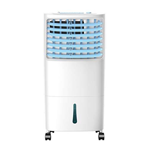 Raffrescatore Evaporativo Portatile Domestico Aria Condizionata Ventilatore di Raffreddamento Aria 10L Grande Serbatoio di Acqua 7.5 H Tempi 3 Spee con Telecomando