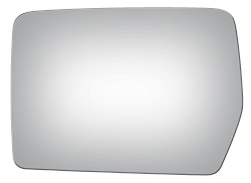 Burco 2980 Left Driver Side Replacement Mirror Glass (Mount Not Included) for FORD F150 (2004 2005 2006 2007 2008 2009 2010) - FO1323508