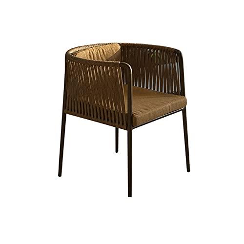YZU Set da Giardino, Set Mobili da Giardino in Poly Rattan Set Divani da Giardino Casual con Tavolino e Cuscino Comodo per Giardino Terrazza Balcone,Chair a