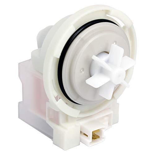 SPARES2GO Base de bomba de drenaje compatible con lavadora Bosch WAP WAQ WAT WUQ Series (230 V, 50 Hz, 30 W, 0,2 A)
