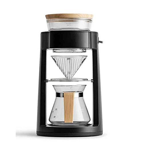 Ekspres do kawy Przelewowy ekspres do kawy Ekspres do espresso Obrotowy automatyczny ręczny ekspres do kawy Nadaje się do domowego parzenia kawy (Kolor: Biały, Rozmiar: Jeden rozmiar)