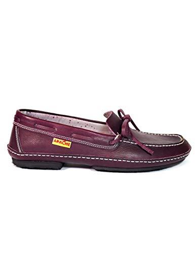 Zapatos Apache 414 Burdeos - Color - Burdeos