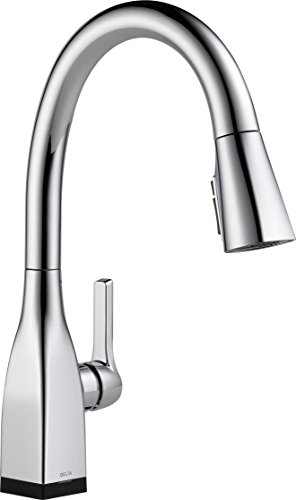 Read About Delta Faucet Mateo Single-Handle Touch Kitchen Sink Faucet with Pull Down Sprayer, Touch2...