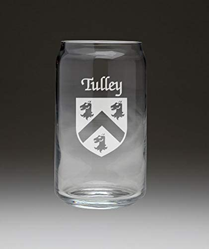 Tulley Irish Max 40% OFF Financial sales sale Coat of Arms Beer 4 Can Set Glass -