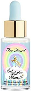 New Too Faced Mystical Highlighter Drops! Bottle Of Unicorn Tears! For Radiant Sparkle On Your Eyes And Face! Can Be Mixed With Foundation And Moisturizer Or Worn Alone For A Stand-Out Highlight!