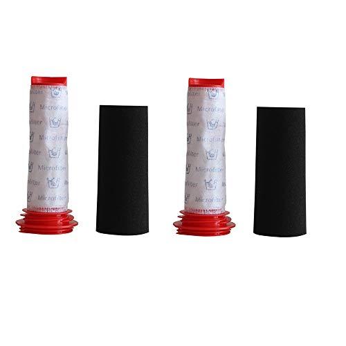 DEYF waschbare Hepafilter für Bosch Athlete 754176 754175 BCH6 Besensauger Bosch Cleaner Zubehörset 2 Filter + 2 Schaum.