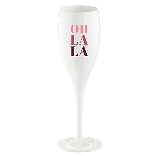 Koziol Cheers NO. 1 OH LA LA Superglas 100ml mit Druck