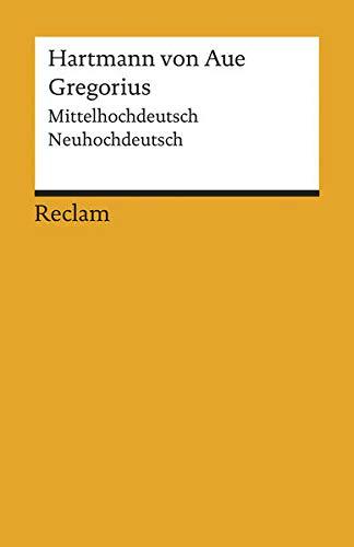 Gregorius: Mittelhochdeutsch/Neuhochdeutsch (Reclams Universal-Bibliothek)