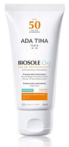 Protetor Solar Biosole Oxy FPS 50, Ada Tina