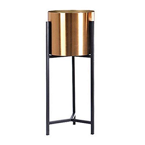 QHF Soporte de Maceta Vertical Soporte de Maceta Estantería de exhibición Contenedor de Planta de Metal Interior para decoración del hogar