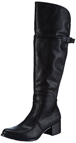 Marco Tozzi Damen 25504 Kurzschaft Stiefel, Schwarz (Black Antic 002), 36 EU
