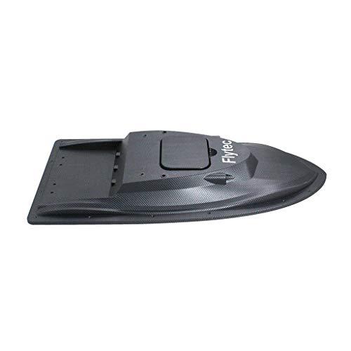 P Prettyia Plastic Boot Shell Körper Ersatzteile für Flytec V007 RC Köder Boot Rumpf Teile Zubehör - Schwarz