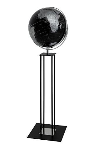 emform Standglobus Worldtrophy Black Night, Metall & Kunststoff, 430 x 1320 mm