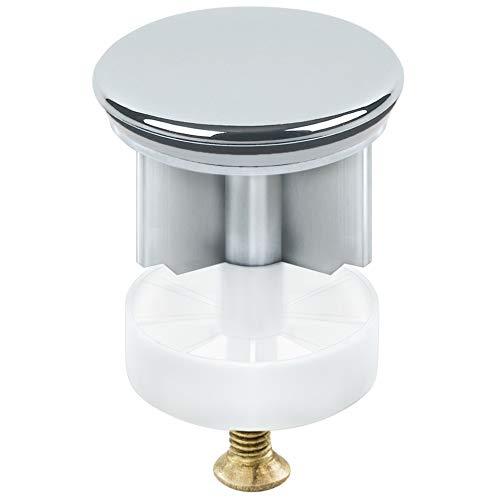 TRIXES Spülbeckenstopfen - Spülbeckensieb - stilvolles verchromtes Küchen- und Badezimmerzubehör - Pop-Up Sieb für Waschbecken und Spülen - Ablaufabdeckung für Waschbecken - 40mm