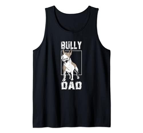 Hombre Perros bull terrier miniatura divertidos - masters Camiseta sin Mangas