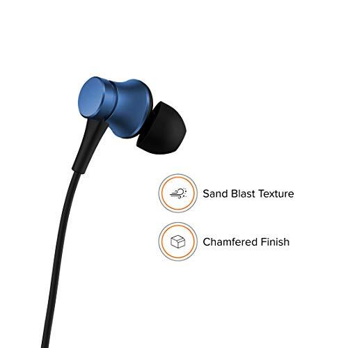 Xiaomi YDJC01JY Wired in Ear Earphone with Mic (Blue)