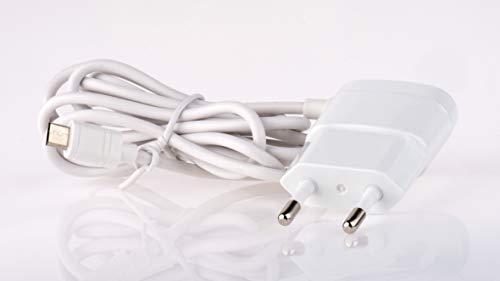 EMOS V0116 Ladegerät mit 1,5 m Netzteil mit 1A Micro-USB Kabel für Handy, Smartphone