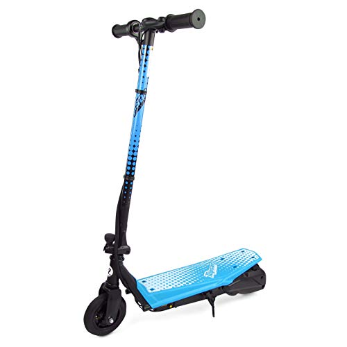 Ripsar Blue Electric Scooter 24v for Kids with Air Tyre