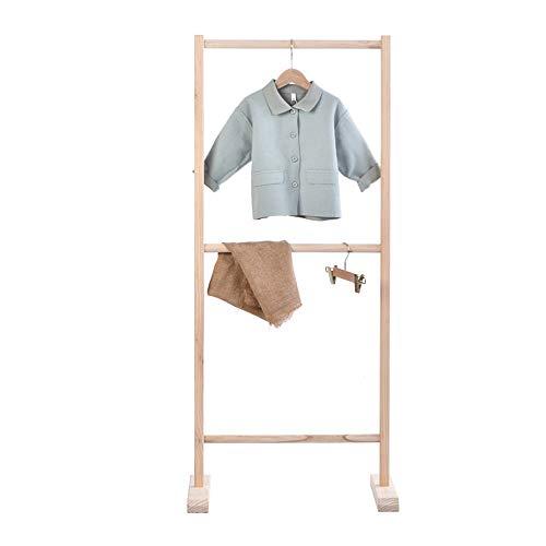 Perchero De Dormitorio Los niños visten la ropa del niño del estante del estante niños pequeños estantes for ropa de vestir de almacenamiento Niños de disfraces Organizador Estante de secado vertical