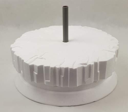 Pondlife Premium+ Eisfreihalter - Eisscholle für Gartenteich mit Belüftungsrohr 2020