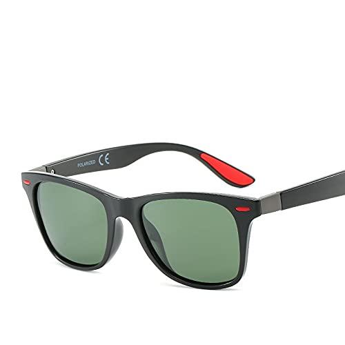 AMFG Conductor Gafas de sol Gafas de sol polarizadas Pesca Conducción Vidrios Equitación (Color : E)