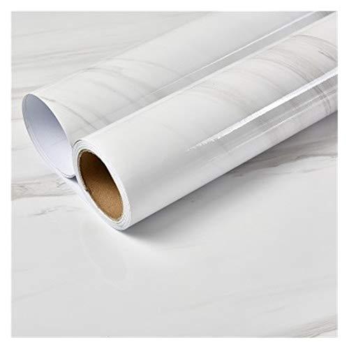 HYCSP Moderne Marmor Textur Tapete Wohnzimmer Schlafzimmer Badezimmer Self-Adhesive wasserdichte Wand-Papier for Wände Wohnkultur (Color : SA01 16, Size : 3mx60cm)